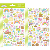 Doodlebug Design - Fairy Garden Collection - Mini Icon Stickers
