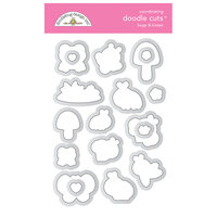 Doodlebug Design - Fairy Garden Collection - Doodle Cuts - Dies - Bugs And Kisses