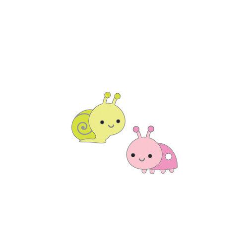 Doodlebug Design - Fairy Garden Collection - Collectible Pins - Baby Bugs