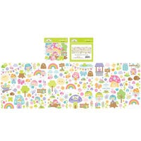Doodlebug Design - Fairy Garden Collection - Odds and Ends - Die Cut Cardstock Pieces