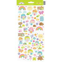 Doodlebug Design - Fairy Garden Collection - Icon Stickers - Fairy Garden