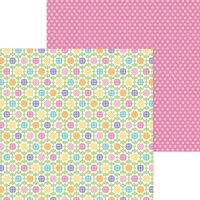 Doodlebug Design - Hippity Hoppity Collection - 12 x 12 Double Sided Paper - Spring Has Sprung