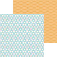 Doodlebug Design - Hippity Hoppity Collection - 12 x 12 Double Sided Paper - Mr. Cottontail