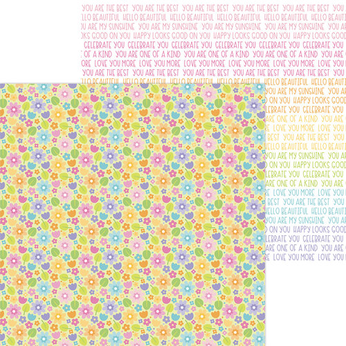 Doodlebug Design - Fairy Garden Collection - 12 x 12 Double Sided Paper - Magical Meadow