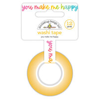 Doodlebug Design - Cute and Crafty Collection - Washi Tape - You Make Me Happy