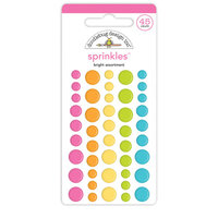 Doodlebug Design - Cute and Crafty Collection - Sprinkles - Bright Assortment