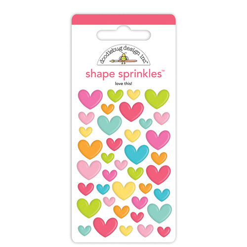 Doodlebug Design - Cute and Crafty Collection - Sprinkles - Love This!