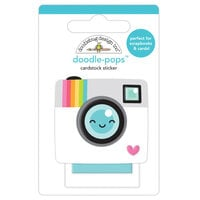 Doodlebug Design - Cute and Crafty Collection - Doodle-Pops - Oh Snap