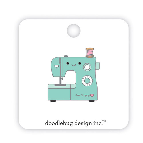 Doodlebug Design - Cute and Crafty Collection - Collectible Pins - Sew Happy