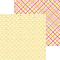 Doodlebug Design - Cute and Crafty Collection - 12 x 12 Double Sided Paper - Love This