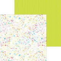 Doodlebug Design - Cute and Crafty Collection - 12 x 12 Double Sided Paper - Colorful Canvas