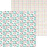 Doodlebug Design - Cute and Crafty Collection - 12 x 12 Double Sided Paper - Sew Cute