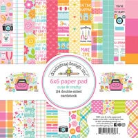 Doodlebug Design - Cute and Crafty Collection - 6 x 6 Paper Pad