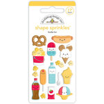 Doodlebug Design - Fun At The Park Collection - Sprinkles - Self Adhesive Enamel Shapes - Foodie Fun