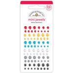 Doodlebug Design - Fun At The Park Collection - Self Adhesive Mini Jewels - Festive Assortment