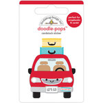Doodlebug Design - Fun At The Park Collection - Doodle-Pops - Are We There Yet