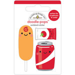Doodlebug Design - Fun At The Park Collection - Doodle-Pops - Let's Ketchup