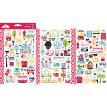 Doodlebug Design - Fun At The Park Collection - Cardstock Stickers - Mini Icon