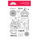 Doodlebug Design - Fun At The Park Collection - Clear Photopolymer Stamps - Fun At The Park