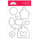 Doodlebug Design - Fun At The Park Collection - Doodle Cuts - Dies - Fun At The Park