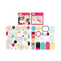 Doodlebug Design - Fun At The Park Collection - Bits and Pieces - Die Cut Cardstock Pieces