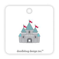 Doodlebug Design - Fun At The Park Collection - Collectible Pins - Cute Castle