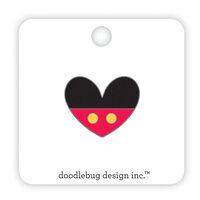 Doodlebug Design - Fun At The Park Collection - Collectible Pins - Love Him