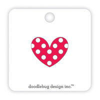 Doodlebug Design - Fun At The Park Collection - Collectible Pins - Love Her