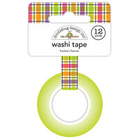 Doodlebug Design - Happy Haunting Collection - Washi Tape - Frankie's Flannel