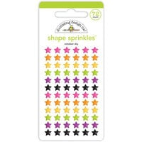 Doodlebug Design - Happy Haunting Collection - Sprinkles - Self Adhesive Enamel Shapes - October Sky