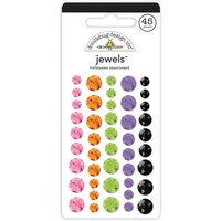 Doodlebug Design - Happy Haunting Collection - Jewels - Adhesive Rhinestones - Halloween Assortment