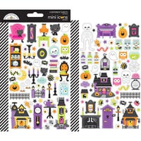 Doodlebug Design - Happy Haunting Collection - Cardstock Stickers - Mini Icon