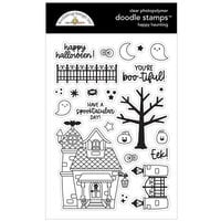 Doodlebug Design - Happy Haunting Collection - Clear Photopolymer Stamps - Happy Haunting