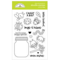 Doodlebug Design - Happy Haunting Collection - Clear Photopolymer Stamps - Going Buggy Doodle