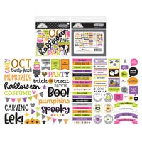 Doodlebug Design - Happy Haunting Collection - Chit Chat - Die Cut Cardstock Pieces