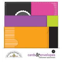 Doodlebug Design - Cards and Envelopes - Halloween Assortment