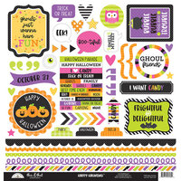 Doodlebug Design - Happy Haunting Collection - 12 x 12 Cardstock Stickers - This and That