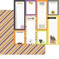 Doodlebug Design - Happy Haunting Collection - 12 x 12 Double Sided Paper - I Want Candy