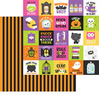 Doodlebug Design - Happy Haunting Collection - 12 x 12 Double Sided Paper - Bewitched