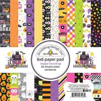 Doodlebug Design - Happy Haunting Collection - 6 x 6 Paper Pad