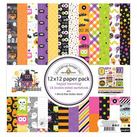 Doodlebug Design - Happy Haunting Collection - 12 x 12 Paper Pack