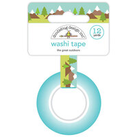 Doodlebug Design - Great Outdoors Collection - Washi Tape - The Great Outdoors