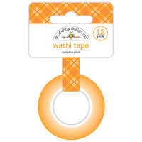 Doodlebug Design - Great Outdoors Collection - Washi Tape - Campfire Plaid