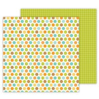 Doodlebug Design - Great Outdoors Collection - 12 x 12 Double Sided Paper - Camping Spots