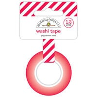 Doodlebug Design - Let It Snow Collection - Washi Tape - Peppermint Twist