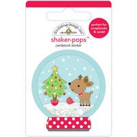 Doodlebug Design - Let It Snow Collection - Shaker-Pops - Snow Wonder