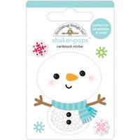 Doodlebug Design - Let It Snow Collection - Shaker-Pops - Snow Cute