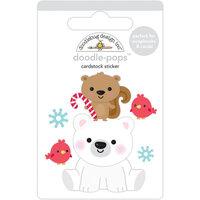 Doodlebug Design - Let It Snow Collection - Doodle-Pops - Polar Pals