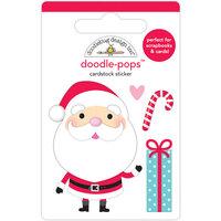 Doodlebug Design - Let It Snow Collection - Doodle-Pops - Hello Santa