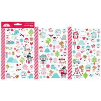 Doodlebug Design - Let It Snow Collection - Cardstock Stickers - Mini Icons - Let it Snow